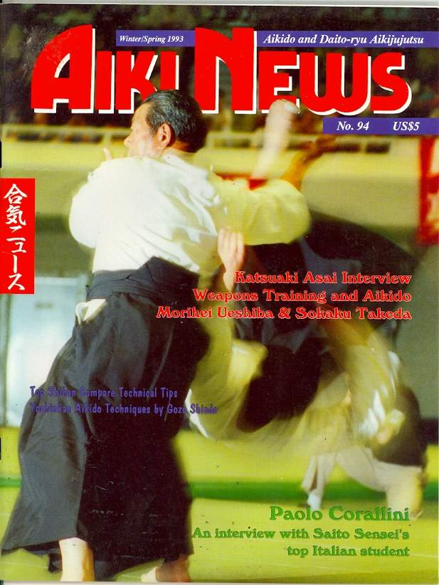 Winter 1993 Aiki News